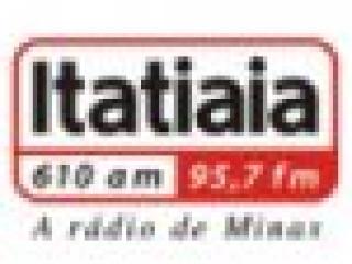 Rádio Itatiaia 610 AM 95.7 FM Belo Horizonte / MG - Brasil