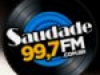 Rádio Saudade FM 99.7 Santos / SP - Brasil